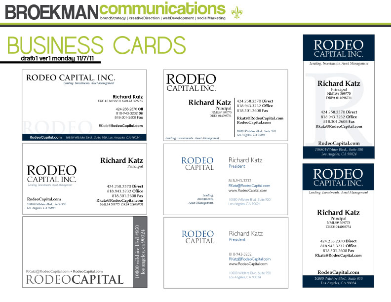 Rodeo Capital | BROEKMAN communications