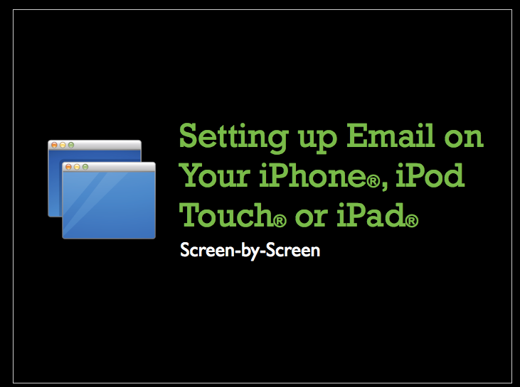 How to set-up GoDaddy email on your iPhone or iPad | BROEKMAN